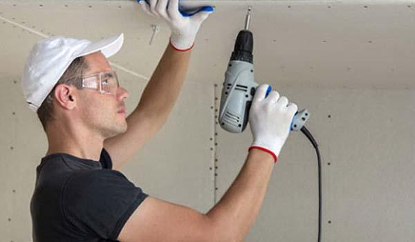 آموزش کامل اجرای کناف روی سقف ( از ساخت زیرساز تا نصب کناف)