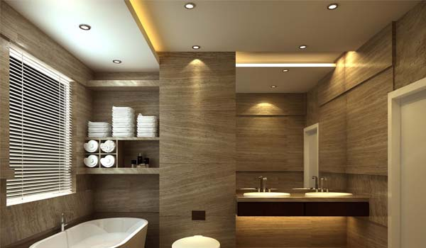 اجرای سقف کاذب حمام و سرویس بهداشتی