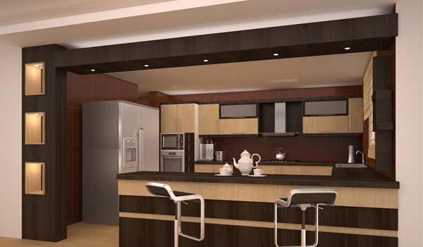 انواع مدل های کناف آشپزخانه