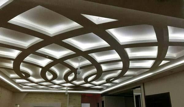 انواع مدل کناف سقف برای پذیرایی