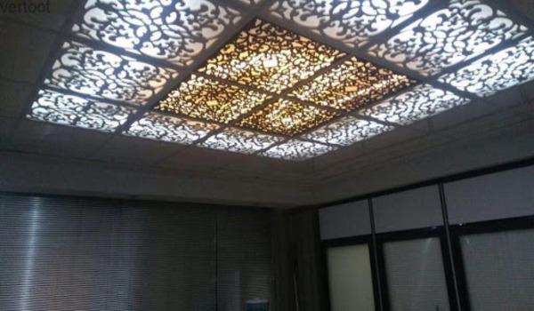 چرا به سقف کاذب معرق، CNC گفته میشود؟