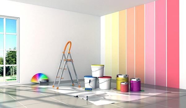 روش های رنگ آمیزی دیوار و اتاق