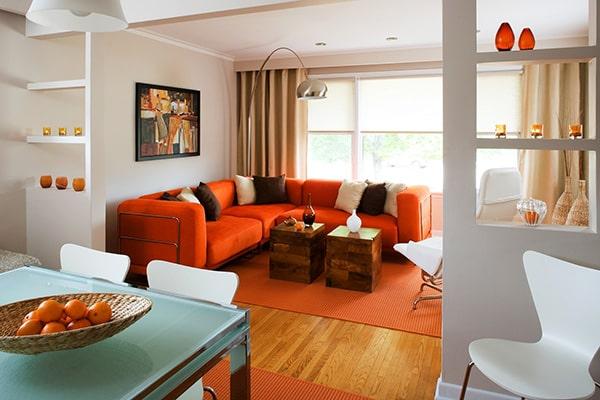 مکل رنگ نارنجی